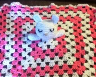 Bunny Crochet Lovey