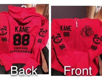 Blackhawks zip up Bling Glitterflock