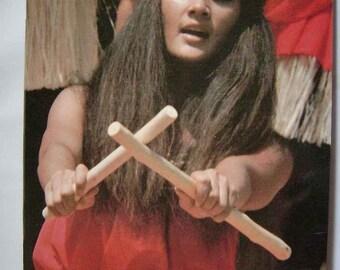 1985 HULA! Ishmael Stagner Polynesian History Booklet Vintage Hawaiian Hawaii Book