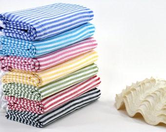 Large Beach Blanket Turkish Bath Towel Travel Boat Trip Turkey Towels Picnic Blanket Beach Fouta Beach Sarong Cloth Peshtemal Towel