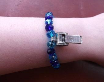 Whistle charm bracelet.