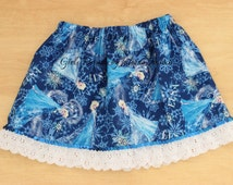 Elsa Skirt, Frozen Skirt, Elsa Tutu, Elsa Dress, Queen Elsa Skirt, Frozen Birthday, Queen Elsa Dress, Elsa Prop, Elsa Personalized Shirt