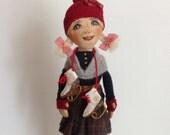 Ð¡loth dolls -Art doll- Cloth doll-OOAK doll-Textile dolls-Collecting doll-Stuffed doll- Fabric doll-Soft doll-Doll-Rag doll-Cotton doll