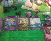 Fairy Messages~Perfect Springtime Spread! Elementals~FAE~Faery Realm~Abundance Prosperity Blessings~New Home~Transitions~Pregnancy~Fertility