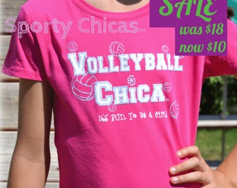 Volleyball Shirt, Girls Volleyball Shirt, Volleyball Bling Shirt w/Shimmery Volleyballs, Volleyball Mom, Volleyball Girl, Volleyball Gifts
