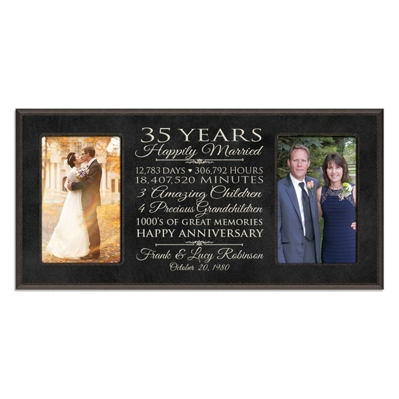 35th anniversary gift for him,35 year wedding anniversary gift ...