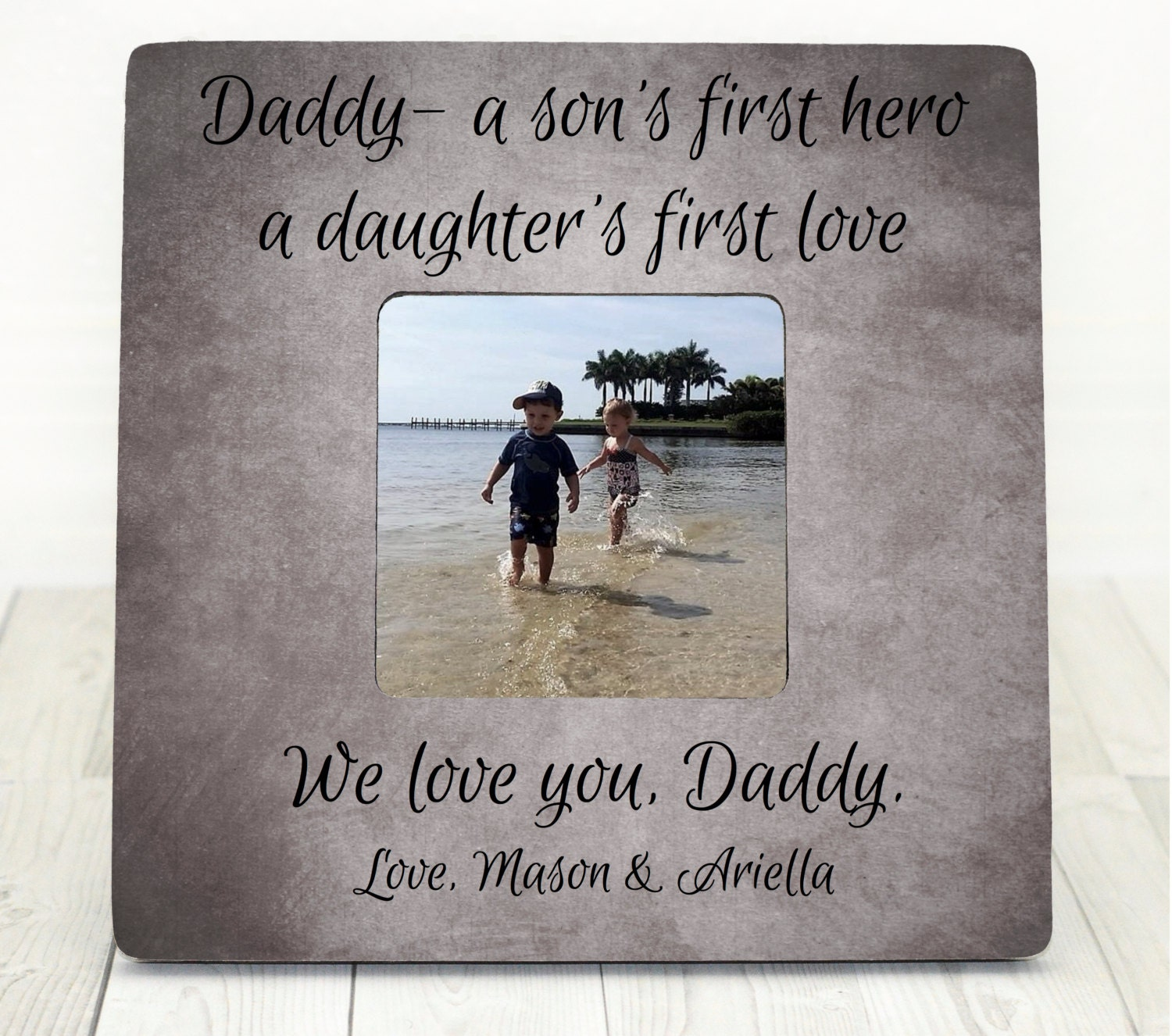 Fathers Day Gift Dad Frame Personalized Frame Gift For Dad
