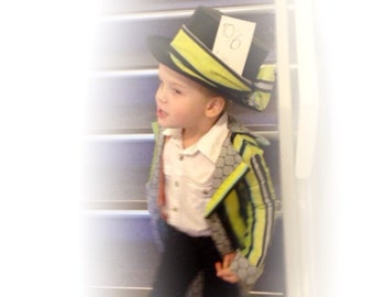 Boys mad hatter costume