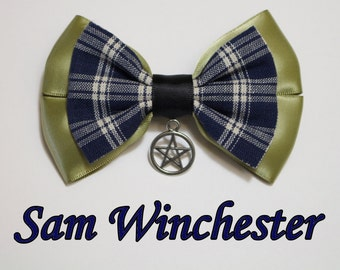 Sam Winchester Hair Bow