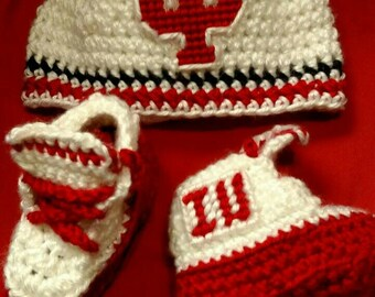 IU inspired crochet   newborn to 6 month sizes avalable.My first mouthguard pacifier can be added.