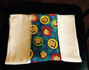 Curious George Burp Cloth