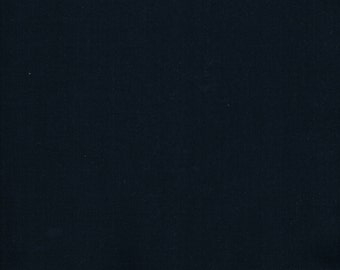 Navy Fabric, Navy Cotton Fabric,  navy quilting fabric, Fabric by the Yard