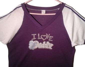 Vintage Purple Tshirt