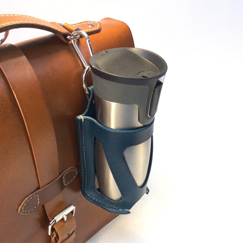 Water Bottle Holster: 3-In-1 Leather Bottle Holder Holster 750ml
