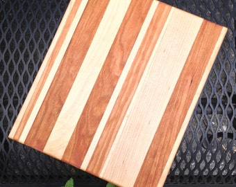 Cherry and Maple Cutting Board - Small