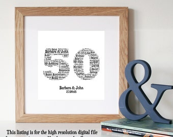 Diy Gift Ideas For 50th Wedding Anniversary : ... anniversary 50th wedding anniversary gifts gifts for parents au 29 66