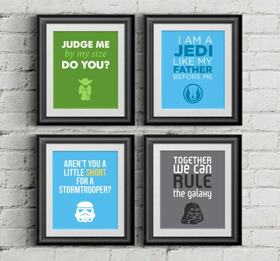 Star Wars Printable Nursery Wall Art