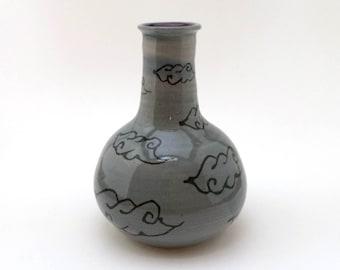 Whimsical Cloud Vase