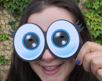 Cartoon Eyes Photo Booth Props No 1  Set of 3  013-930 High Quality Party Props