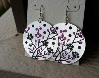 Steel Blossom Earrings