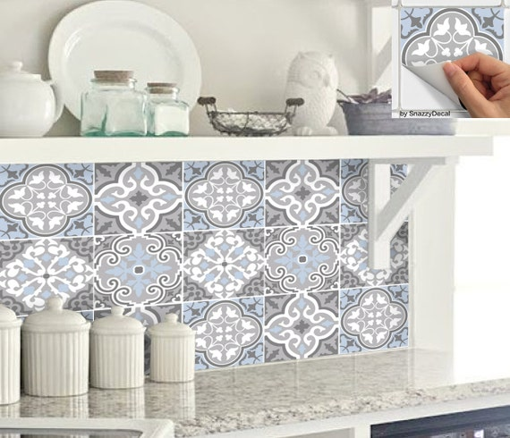 Wall Tile Decals Vinyl Sticker Removable Tile Or By
