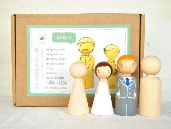 Items Similar To DIY: Wedding Cake Toppers. Create Your
