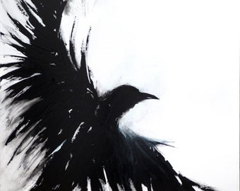 "Art Print - The Crows X - 13"" x 16 7/8"""