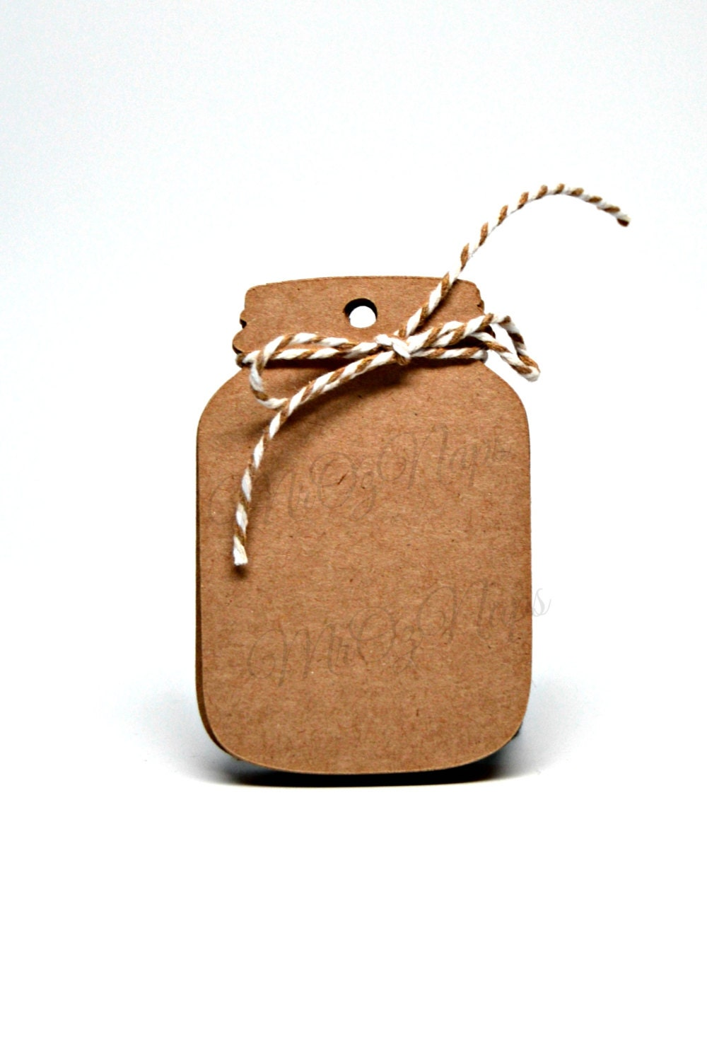 Wedding Favor Tags For Mason Jars : Mason Jar Tags / Wedding Wish Tags / Favor Tags / by MrOzNaps