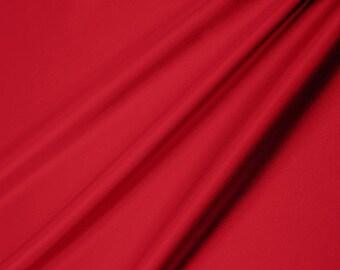 Shannon Fabrics Silky Satin Ruby Red 419