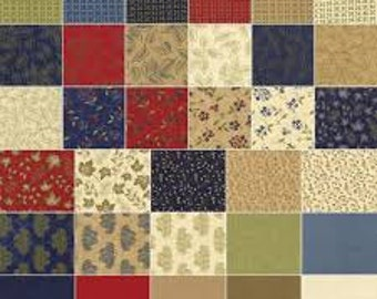 Woodland Summer Layer Cake by Moda Fabric, layer cake, online quilting fabric Australia