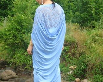 Summer kaftan abaya Oversize dress Party dress Caftan Maxi dress Robe Lace dress/ All sizes available Us Uk Eu