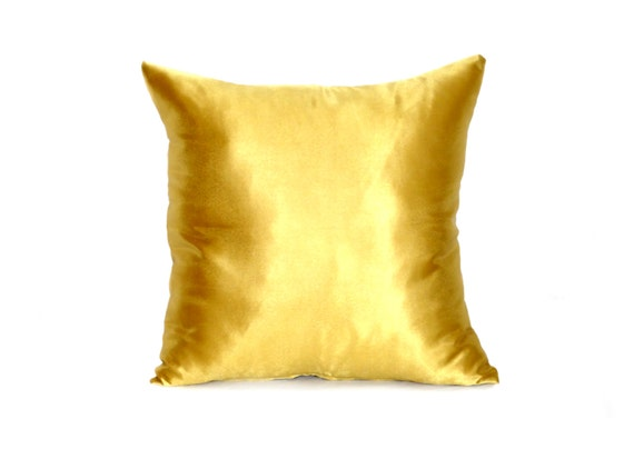 how to make satin pillow covers