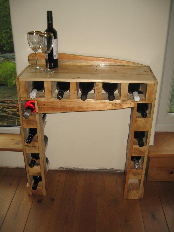 special sale price pallet wood wine rack. Black Bedroom Furniture Sets. Home Design Ideas