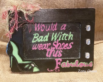 Bad Witch Decor