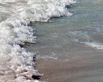 Beach Waves Photography Fine Art Print