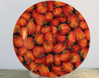 Decorative Thanksgiving/Fall Plate