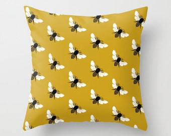Yellow Bees PILLOW