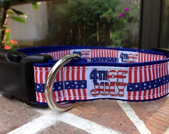 4th of July Collars (SALE)