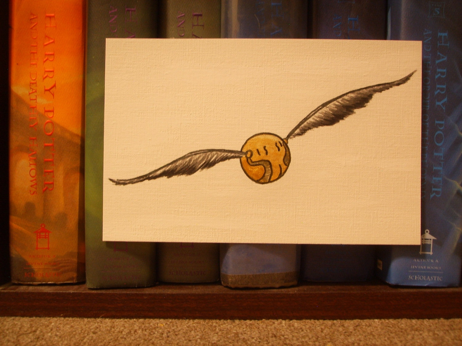 harry potter quidditch golden snitch fan art harry potter