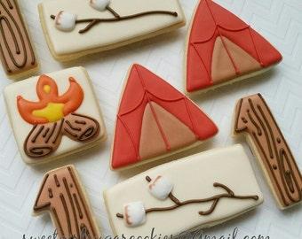 Campout Sugar Cookies (12)