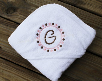 Personalized Hooded Bath Towel