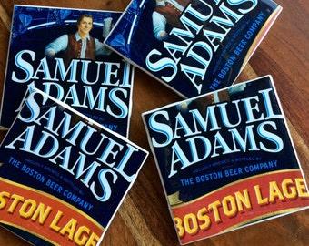 Sam Adams Beer Coasters
