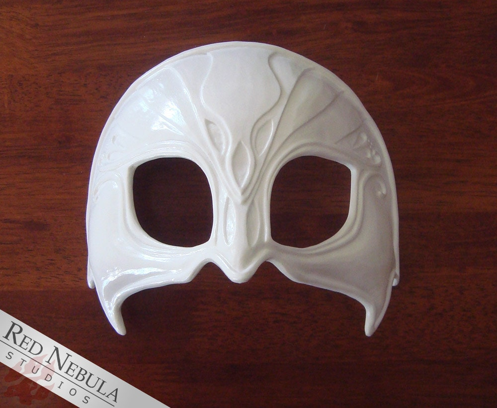 Female Orlesian Mask Blank Masquerade Mask Fancy Dress Party