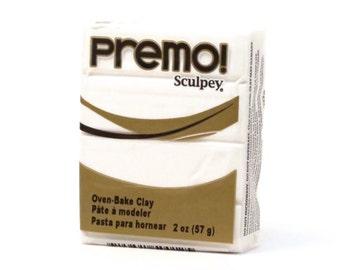 Sculpey premo polymer clay White