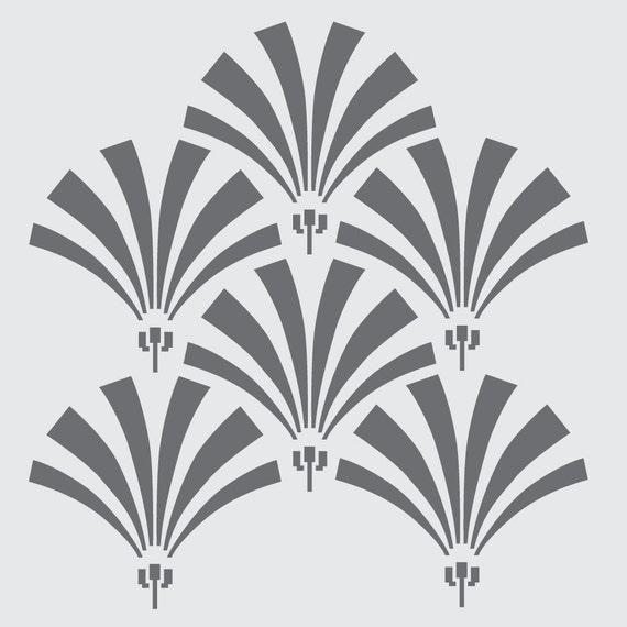Art deco stencil designs