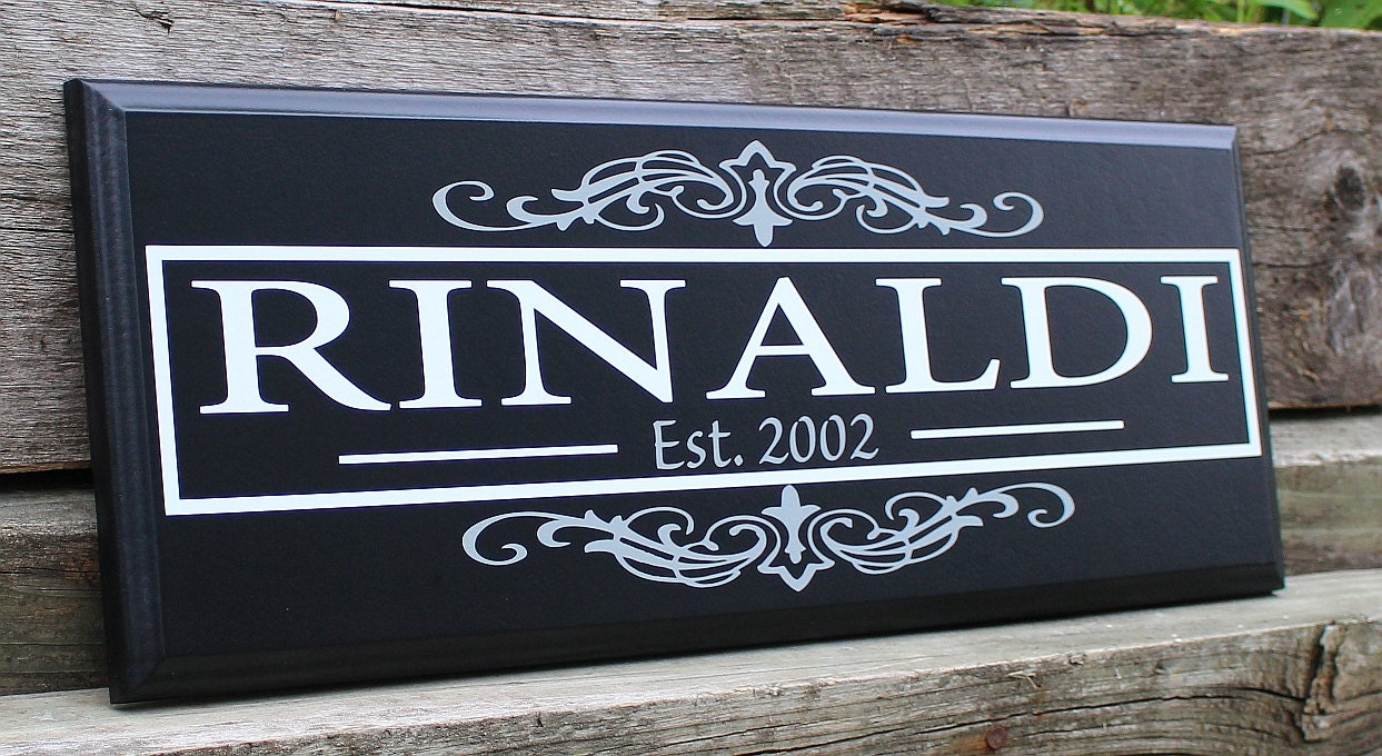 Custom Wood Sign Home Decor Wood Wedding Gift Personalized Home Decorators Catalog Best Ideas of Home Decor and Design [homedecoratorscatalog.us]
