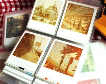 Polaroid Photo Album Film Holder for Polaroid FP-100c Fujfilm Instax Wide Polaroid 600 Films of PX70 PX680 PX600 PX100 600