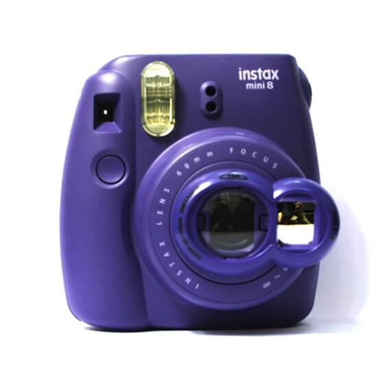 Selfie Mirror Close Up Lens Purple For Fujifilm Instax Mini 8
