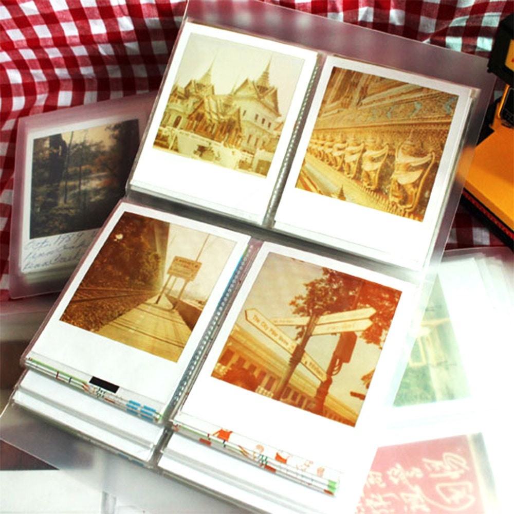 polaroid photo album film holder for polaroid fp 100c fujfilm. Black Bedroom Furniture Sets. Home Design Ideas