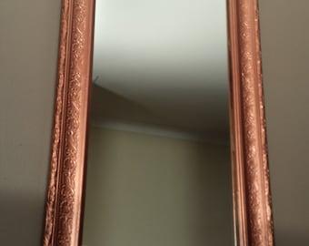 Decorative Copper Look Mirror